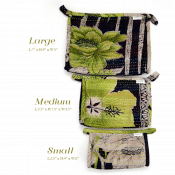 Kantha Toiletry Bag - L