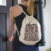 Khadi/ND Drawstring Bag