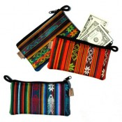 Fabric Checkbook Pouch