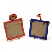Cotton & Wire Creature Picture Frame