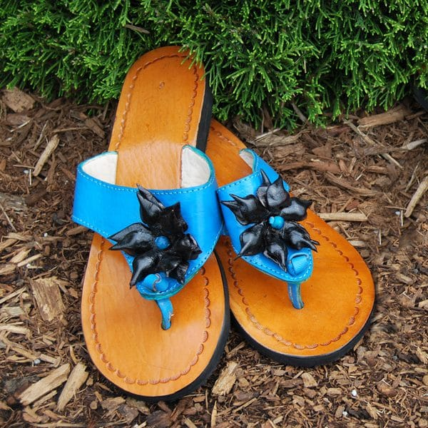 Sandal, Applique