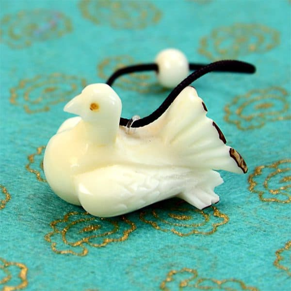 Carved Tagua Ornament