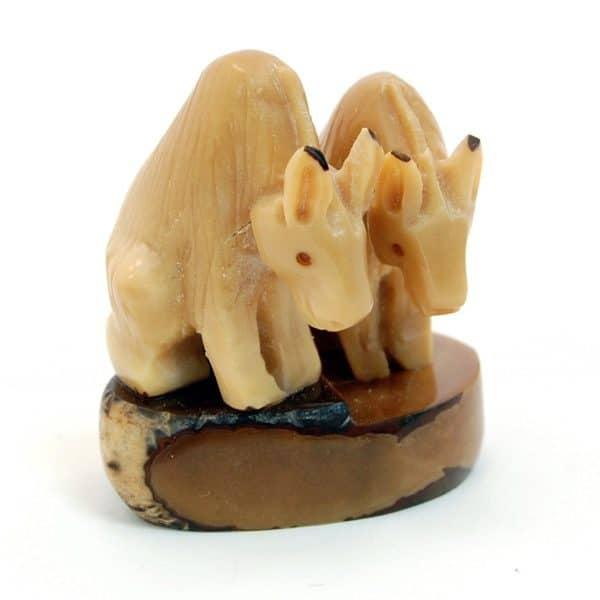 Sitting Donkeys (B)