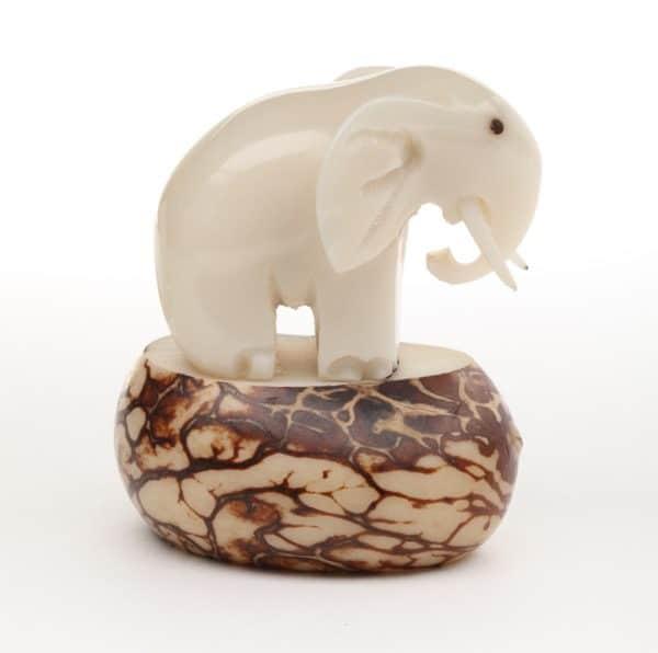 Elephant with Tusks (B)