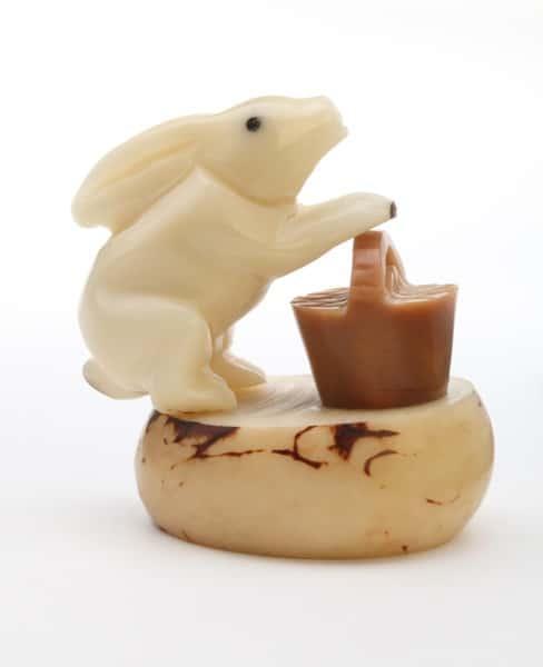 Rabbit with Basket (B)