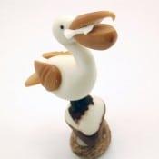 Pelican on Rock (D)
