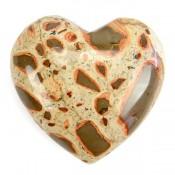 Leopardite Heart