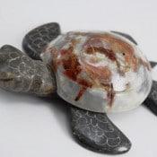 Marble/Onyx Turtles 16cm
