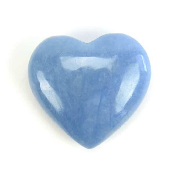 Angelite Heart