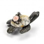 Marble Onyx Turtle Pair