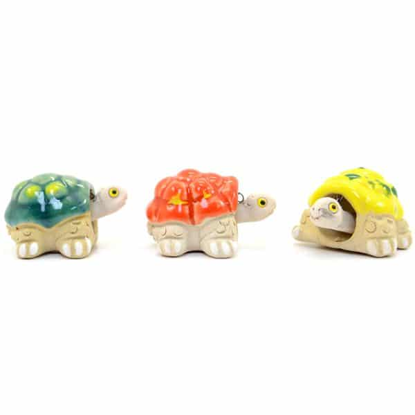 Ceramic Turtle Bobble Head, Mini