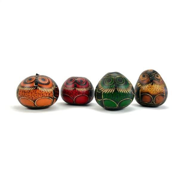 Gourd Owl Ornament - S