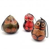 Gourd Owl Ornament - L