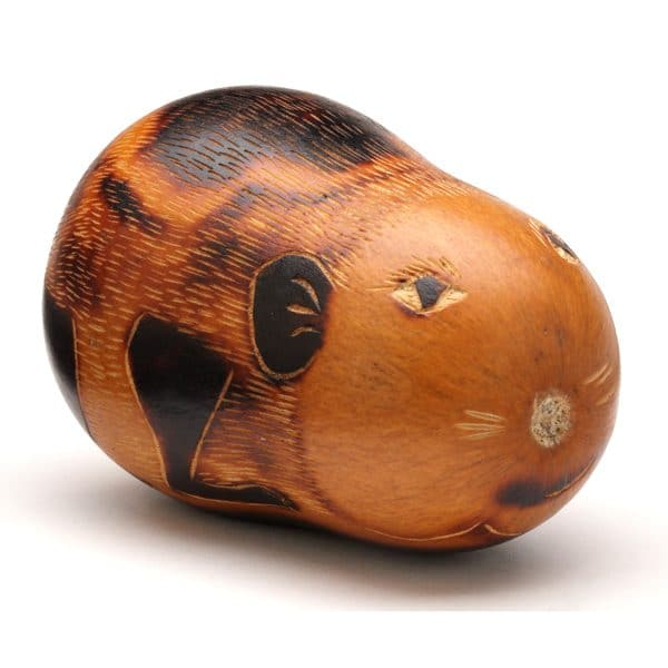 Carved Gourd Animal