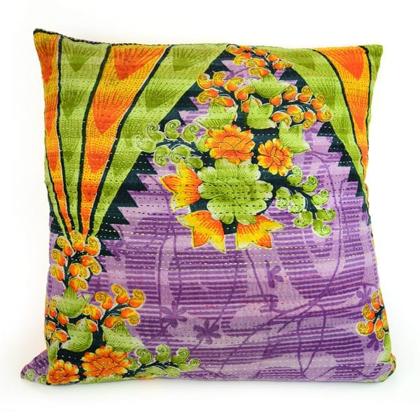Kantha Pillow - L
