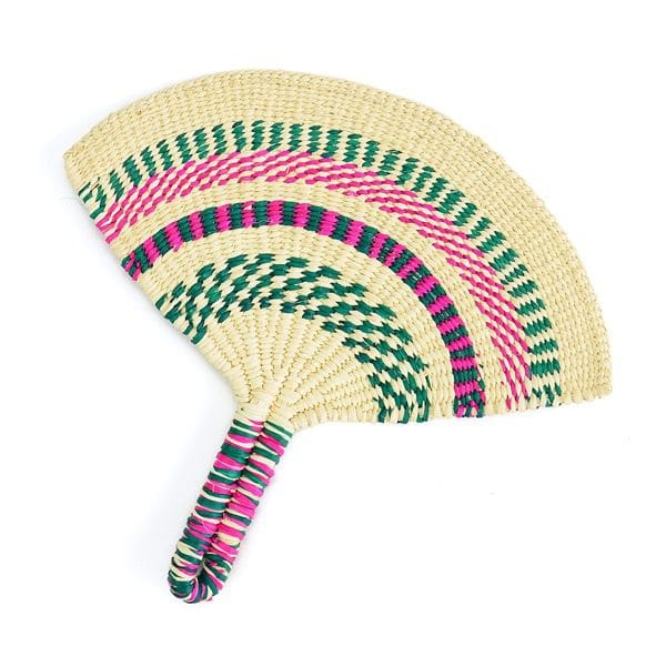 Straw Hand Fan
