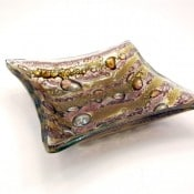 Fused Glass Dish - L