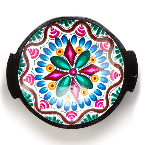 Hand Painted Plate - Round