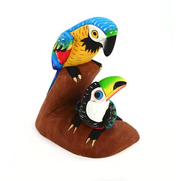 Balsa Parrot with Animal