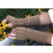 Rustic Ribbed Armwarmers