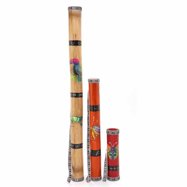 Ecuadorian Painted Rainstick - S