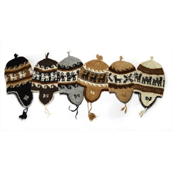 Rustic Earflap Hat