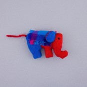 Plush Elephant Magnet