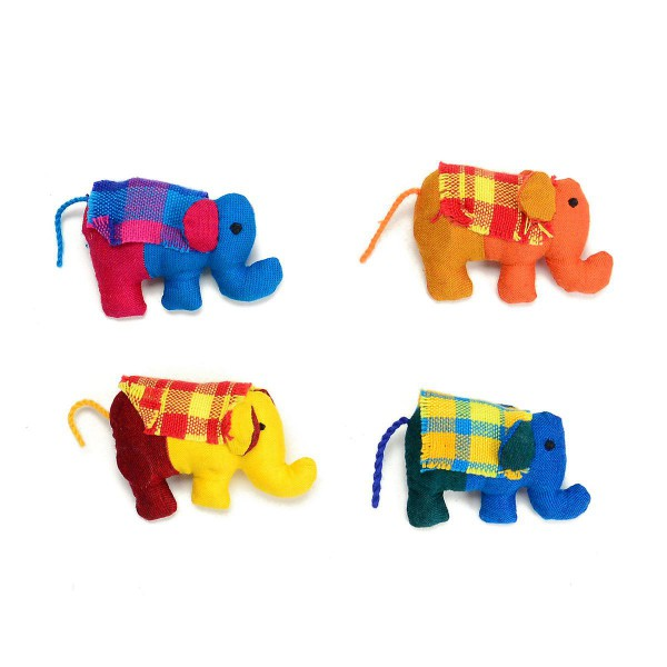 Plush Elephant Magnet